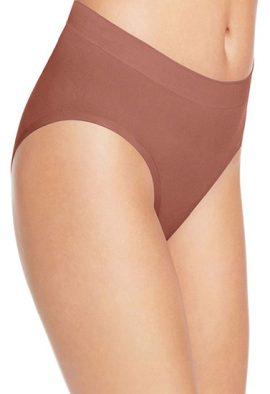 Women's Plus Breathable Cotton-Mesh Brief Panties - 5 Pack