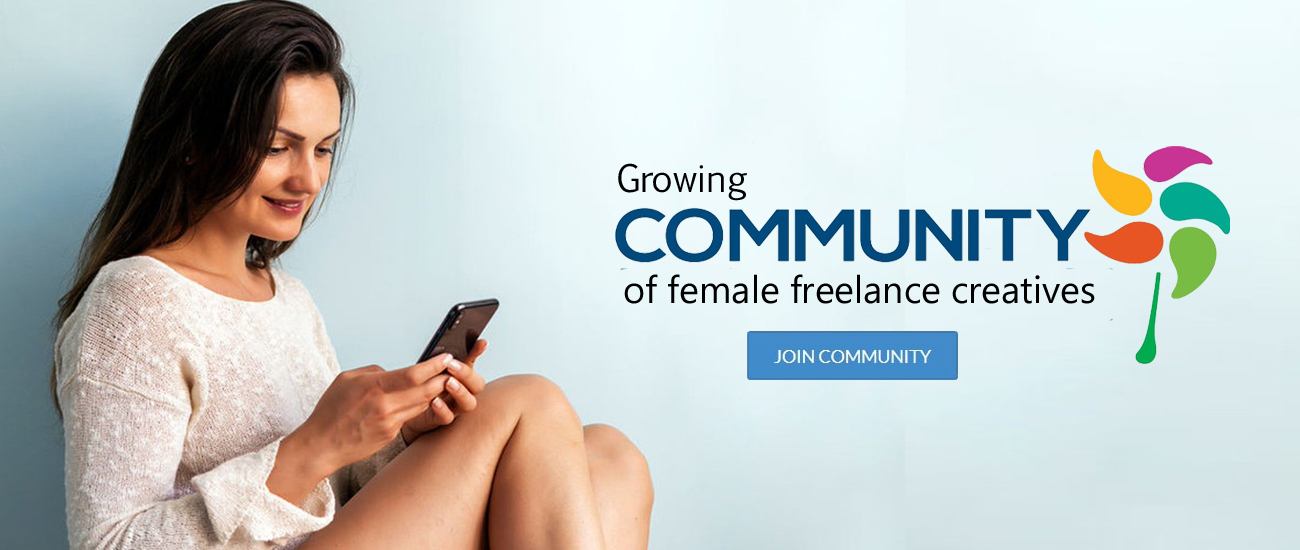 female freelancer India Snazzyway