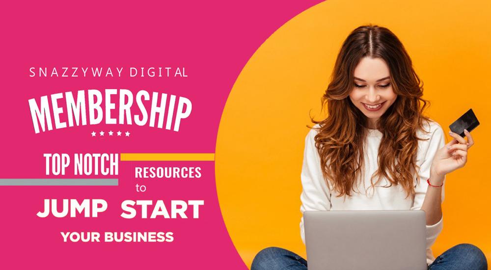 Snazzyway digital membership