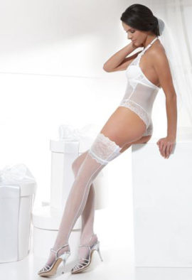 Luxury Bridal stocking By Bas