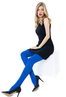 West Loop Control Top Mid-Rise Super Opaque Tights