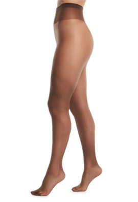 Xhilaration Women's Fashion Tights Slightly Sheer Low Rise Brevity Brown MED/TALL