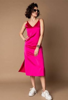 Pink solky soft lounggown3
