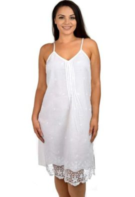 White pure cotton nightwear