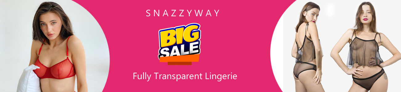 fully transparent bras and panties online India Snazzyway new collection