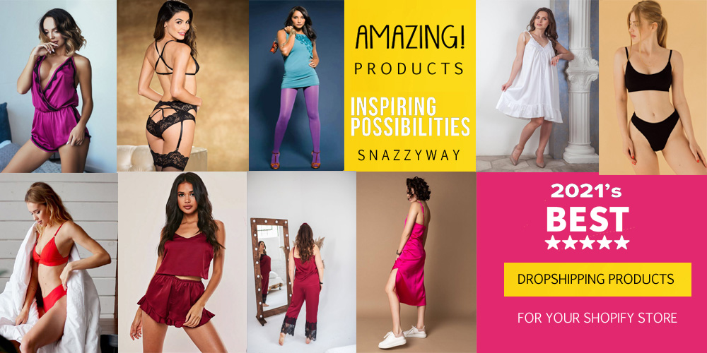top shopify dropshipping stores in india Snazzyway