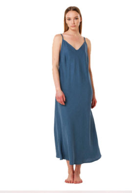 Pure cotton Elegant Midi Lenght Nightdress Sleepdress