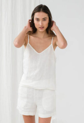 Pure cotton cami and short se