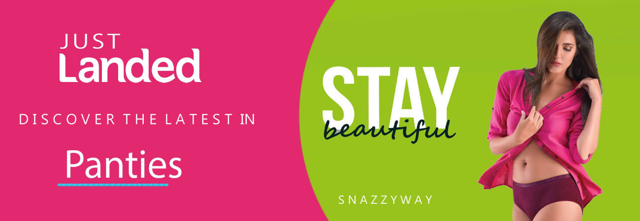 Panties for women and men in India Snazzyway