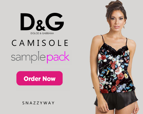 Snazzyway Camisole Sample Pack