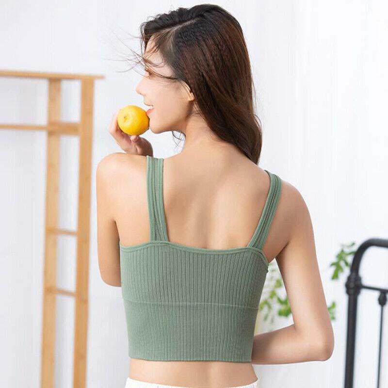 High impact padded longline sports bra