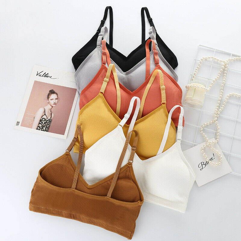 Medium impact padded sports bra pack of 2