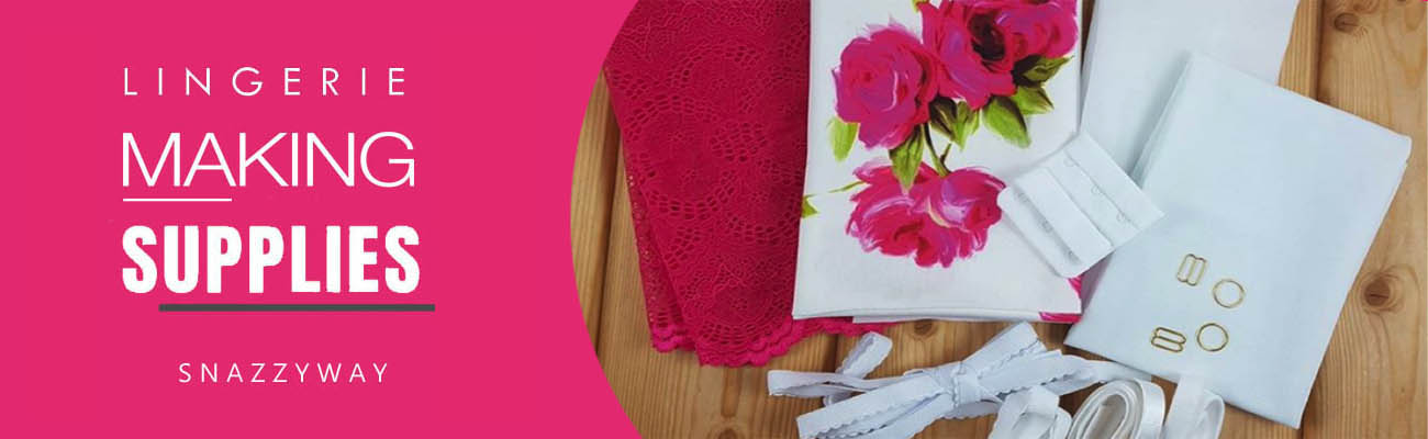 bra panties lingerie making supplies