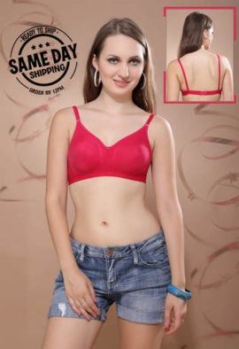 2 Pack Comfy padded non wired t shirt bra4