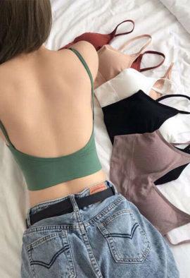 2 Pack Medium impact padded Sports bra