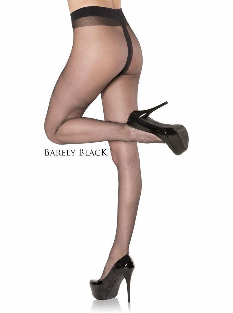 4 pairs NYLONZ Gloss Italian Sheer to Waist Tights Pantyhose