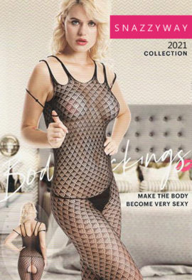 Exquisite Crotchless bodystocking bodysuit