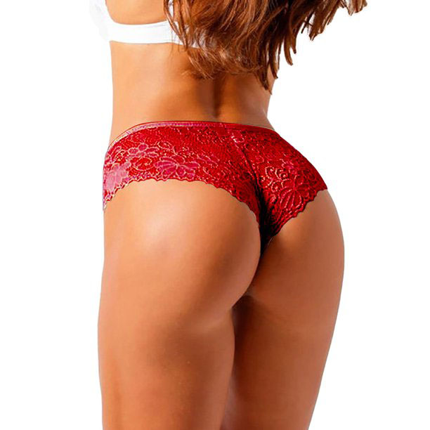 3 pack Women's Ultrasoft Lace Thong Panties